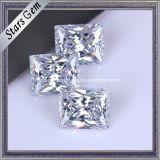 Het Synthetische Zirkoon Aaaaa van uitstekende kwaliteit van de Rechthoek Baguette voor Juwelen