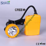 5000mAh Rechargeable Exproof 3W LED Mining Lamp met IP68