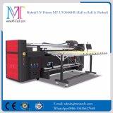 Impresora ULTRAVIOLETA Mt-UV2000 del PVC de la tarjeta de la impresora del más nuevo formato amplio de China