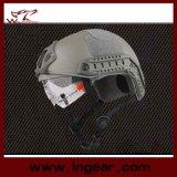 Airsoft Paintballのヘルメットのバイザーとの軍のヘルメットMh様式