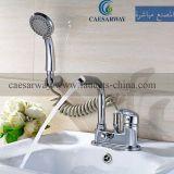 Le robinet de cuisine avec retirent le pulvérisateur