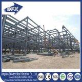 La construction industrielle de modèle ondulé de bâti en acier a jeté avec le retrait