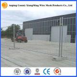 Indicatore luminoso galvanizzato/rete fissa di recinzione mobile resistente del cantiere