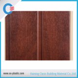 Tarjetas de madera anchas laminadas de la pared del PVC de la decoración del panel de techo del PVC del modelo de 250m m