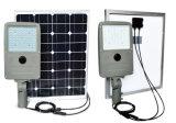 Bateria interna de Ncm com luz de rua solar do diodo emissor de luz do controlador 50W de MPPT