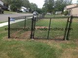 球公園のための保護された製品PVC上塗を施してあるチェーン・リンクの塀