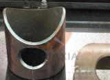 CNCの炎血しょう円形の管または正方形の管の打抜き機のステンレス製の円形の管の穴の打抜き機か円の管の打抜き機