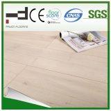 plancher en stratifié ciré d'Uniclic de technologie allemande de l'épreuve HDF de l'eau gravé en relief par 12mm (1014)