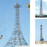 Telecomunicaciones de la comunicación del HDG 4 torres Legged