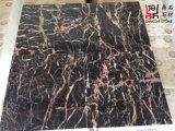カウンタートップのための自然な石造りの高品質の建築材料の赤い大理石の平板の瑪瑙の赤