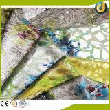 Folha de carimbo quente da forma superior do arco-íris de Quanlity para a matéria têxtil