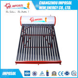 Calentador de agua solar de acero galvanizado no presurizado en China