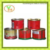 70g законсервировало OEM оптовой продажи высокого качества затира томата законсервированный изготовлением
