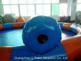 Raggruppamento gonfiabile del Aqua della tela incatramata resistente calda del PVC per affitto