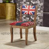 典型的な映像が付いている現代木フレームのレストランの椅子は印刷した(SP-EC651)