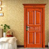 Porta de painel de madeira elegante do balanço do projeto o mais atrasado (GSP2-013)