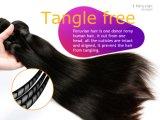 100% unverarbeitetes peruanisches Haar-gerade Jungfrau-Haar-Webart