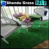 緑のプラスチック草ホーム裏庭のための20mm