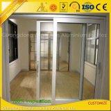 Usine extrudée 6061 6063 Extrusion de fenêtre et de porte en aluminium anodisé