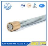 Filo rivestito galvanizzato A475 del filo di acciaio dello zinco del trefolo di ASTM