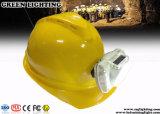 lâmpada de tampão sem corda recarregável do mineiro da segurança de 13000lux OLED Discreen