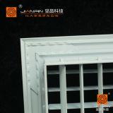 Traliewerk van de Afbuiging van het aluminium het Dubbele in Systeem HVAC