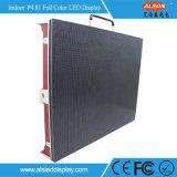 Alquiler LED panel de la pantalla a todo color de alta definición P4.81