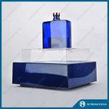 LED de iluminación de acrílico azul botella de vino Display Stand (HJ-DWL05)