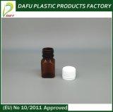 Бутылка пластмассы круглой формы любимчика малая