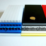 цвета доски 1.5mm-10mm PP лист полого Corrugated пластичный