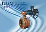 1-stuk de Elektrische Van een flens voorzien Tap Opgezette Kogelklep van V Type