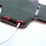 Ultradünner Fabrik-Preis mit Kopfhörerjack-Sport-rüttelnder Armbinde