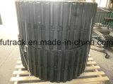 Trilha de borracha da esteira rolante de borracha do descarregador (800X125X80)