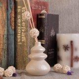 Bottiglie di ceramica diffuse della canna dell'aroma lustrate perla del Calabash