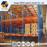 Stahlladeplatten-Speicher-Schwerkraft-Racking für Lager verwendete