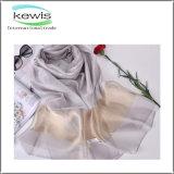 Mehrfarben100% Seide-Form-Schal für Sprung