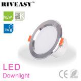 7W diodo emissor de luz Downlight de 3.5 polegadas com a lâmpada do teto de Ce&RoHS