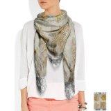 方法卸し売りカスタムデジタル印刷の絹のスカーフ