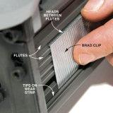 Гальванизированные ногти отделкой t для конструкции
