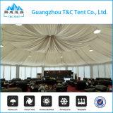 Grosse Aluminiumrahmen Belüftung-runde Kreis-Abdeckung-multi seitliches Zelt für Hochzeits-Ereignis-Partei