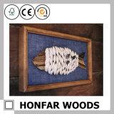 Natürlicher festes Holz-Abbildung-Foto-Rahmen für europäisches Hotel