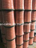 Fio de cobre do esmalte liso desencapado da manufatura
