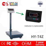 Electrónica Plataforma Digital 300 kg y ensayos de seguridad 40x50cm