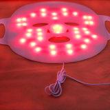 Терапия фотона СИД светлая для подмолаживания кожи с резиновый стороной СИД/лицевой маской для Anti-Aging