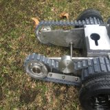 Projeto americano do cliente sua maquinaria para fazer trilhas novas de uma borracha do molde