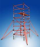 安全な装飾のためのセリウムによって修飾されるアルミニウム足場ポータブル