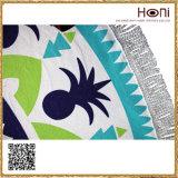 Круглое полотенце Mandala, полотенце пляжа Microfiber, полотенце пляжа круга