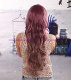 Длинний синтетический парик волос с смешанным цветом для партии или Cosplay