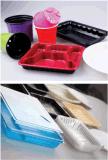 Máquina plástica automática de Thermoforming del conjunto del alimento