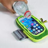 Teléfono móvil Armbag deportivo ajustable de la muñeca bolsa